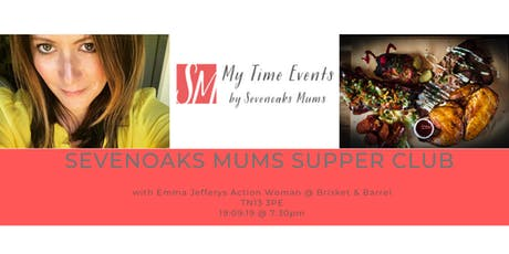 #MyTime Event: Sevenoaks Mums Supper Club tickets