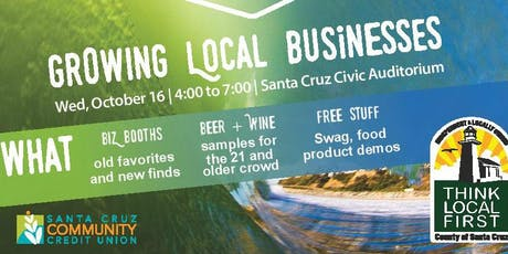 Think Local First-Santa Cruz Indie Biz Expo 2019 entradas