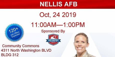 Nellis AFB Veteran Job Fair - Oct 2019 tickets