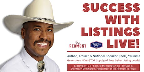 Success with Listings LIVE! tickets