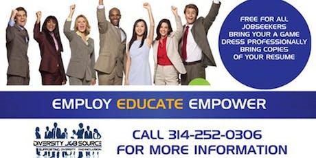 XXVIII Annual Diversity Job Fair-STL tickets