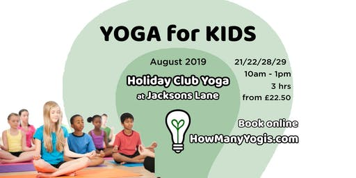 Yoga for Kids Club - Summer Holiday