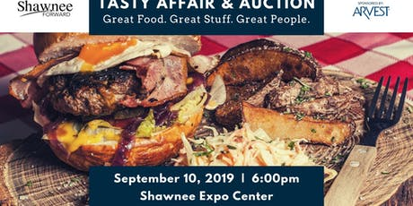 Tasty Affair & Auction - Sponsored by Arvest Bank tickets