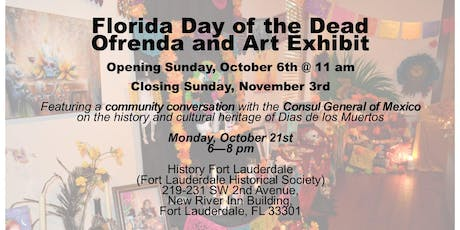 Florida Day of the Dead Community Conversation with the Consul General of Mexico tickets
