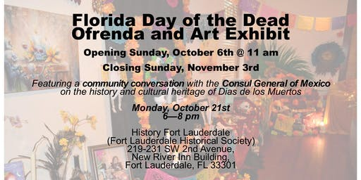 Florida Day of the Dead Community Conversation with the Consul General of Mexico