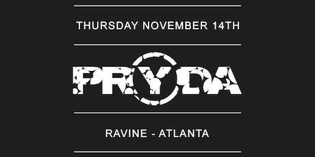 PRYDA - Ravine Atlanta tickets