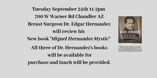 Book Review with Dr. Edgar  Hernandez