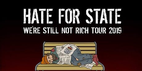 Hate for State (CA) // Modern Scrutiny // Finger Lakes Music tickets