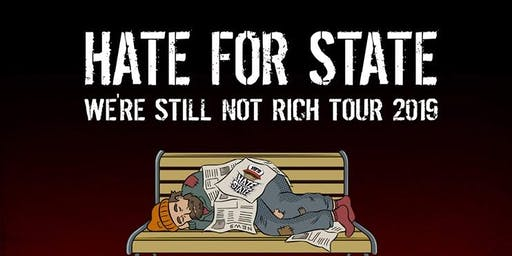 Hate for State (CA) // Modern Scrutiny // Finger Lakes Music