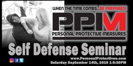 PPM Self Defense Seminar tickets