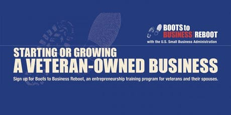 Boots to Business Reboot tickets