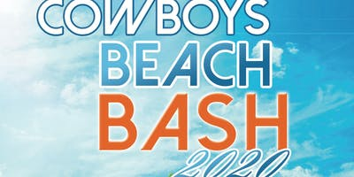 Cowboys Beach Bash