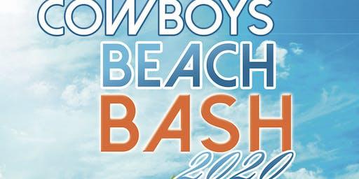 Cowboys Beach Bash