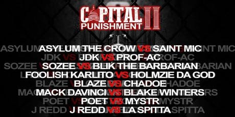 Tha Kulture Presents : Capital Punishment II  tickets