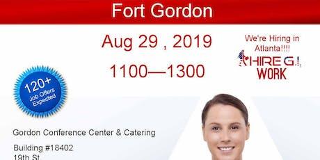 Fort Gordon Veteran Job Fair -Aug 2019  tickets