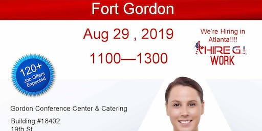 Fort Gordon Veteran Job Fair -Aug 2019