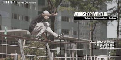 Parkour Workshop | Taller de Entrenamiento Parkour