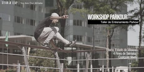Parkour Workshop | Taller de Entrenamiento Parkour boletos