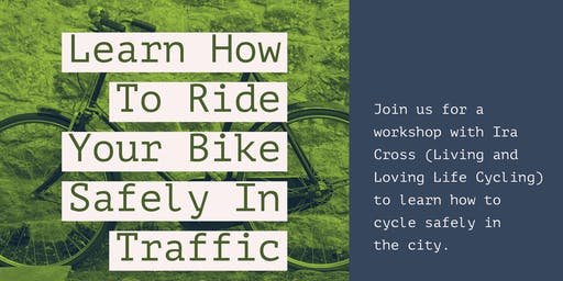 Learn How To Ride Your Bike Safely in the City