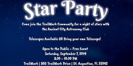 TrailMark - September Star Gazing Event tickets