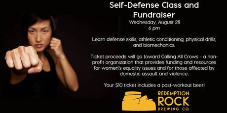 Self-Defense Class and Fundraiser tickets