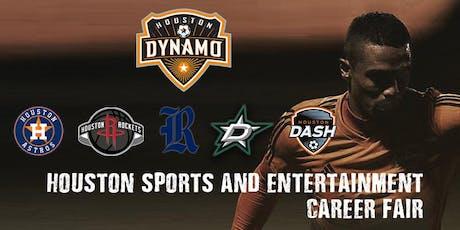 Houston Sports & Entertainment Career Fair hosted by the Houston Dynamo tickets