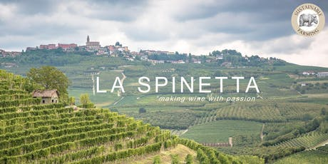 Thursday 3 Course Dinner with La Spinetta Winery tickets