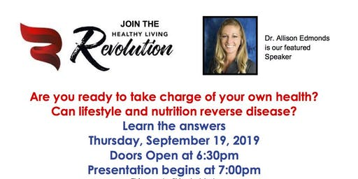 Healthy Living Revolution IHL featuring Dr. Allison Edmonds