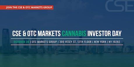 CSE & OTC Markets Cannabis Investor Day tickets