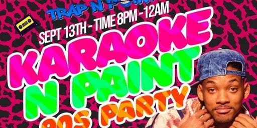 THE BEAN TRAP N PAINT 90S KICKBACK KARAOKE N PAINT