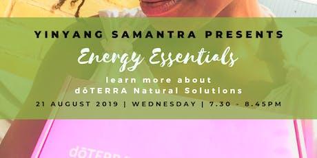 Energy Essentials with YinYangSamantra tickets