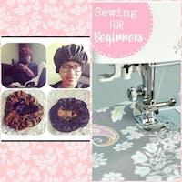 Learn to Sew Reversible Hair Bonnet