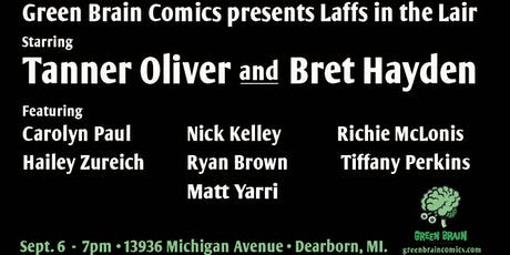 Laff's in the Lair tickets