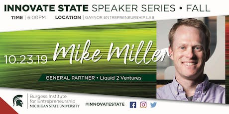 Innovate State, with Mike Miller tickets