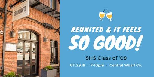 SHS Class of 2009 10 Year Reunion