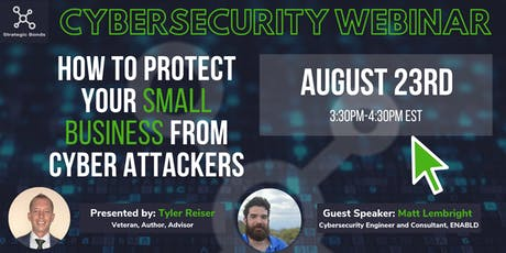 How To Protect Your Small Business From Cyber Attackers tickets