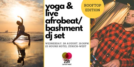 Yoga & live Afrobeat/Bashment DJ set – Rooftop edition - FRIENDS TICKET Tickets