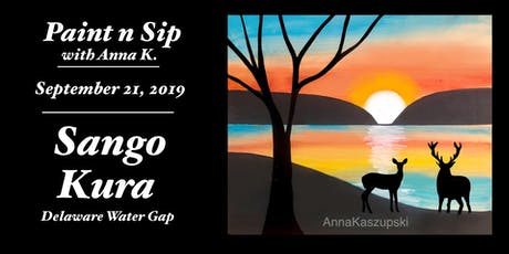Paint n Sip- Delaware Water Gap Sunrise tickets