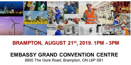 Brampton Blue Collar Job Fair – August 21st, 2019 tickets