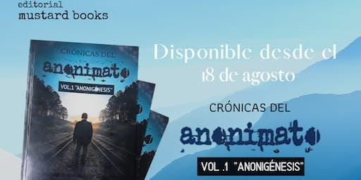 Conversatorio: Libro Crónicas del anonimato: Anonigénesis