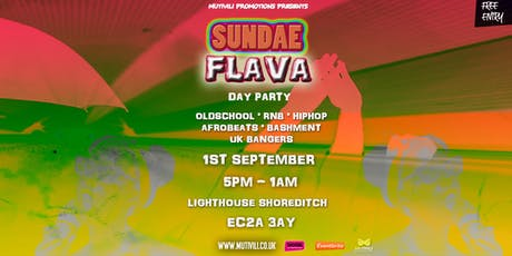 SUNDAE FLAVA: END OF SUMMER PARTY tickets