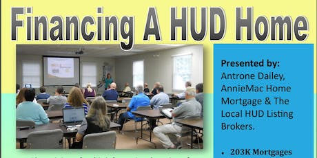 Financing A HUD Home tickets