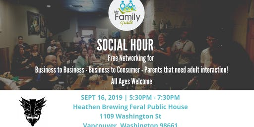 Social Hour with My Family Guide (September)