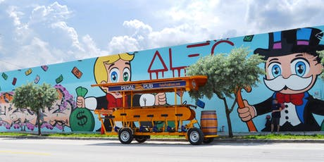 PEDAL PUB TAKES WYNWOOD •  KICK-OFF WEEKEND • PARTY BIKE TOUR tickets