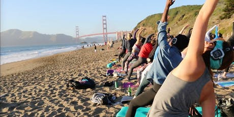 Saturday Groove : Beach Yoga with Julianne tickets