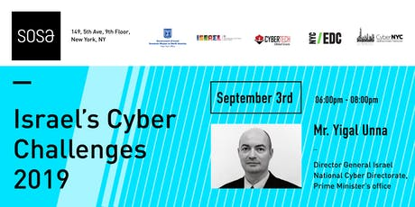 Israel's Cyber Challenges 2019 tickets
