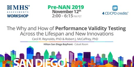 The Why and How of Performance Validity Testing Across the Lifespan tickets