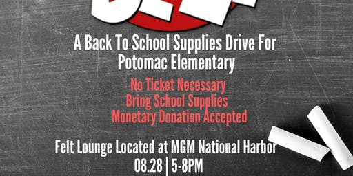 THE FT. WASHINGTON ALUMNI CHAPTER OF KAPPA ALPHA PSI PRESENTS- SAVED BY THE BELL: BACK TO SCHOOL SUPPLIES DRIVE