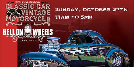 8th Annual Hell on Wheels Car Show tickets