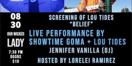 Rooftop show! Lou Tides, Showtime Goma, DJ Jennifer Vanilla tickets
